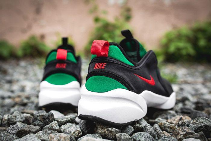 Nike Loden Womens Black Atomic Red Pine Green 1