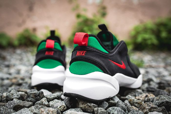 Nike Loden Womens Black Atomic Red Pine Green 1