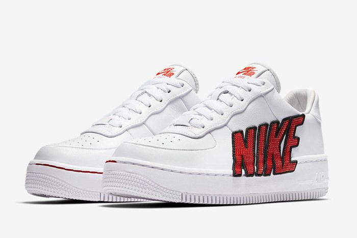 Nike Air Force 1 Upstep Sequin 2