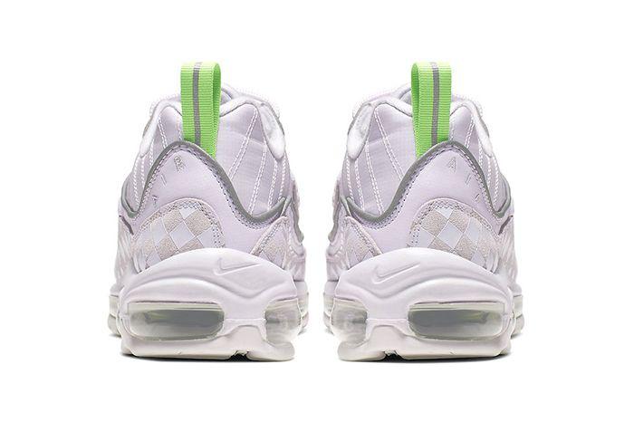 Nike Air Max 98 Wmns Checker Cj9702 500 Release Date Heel