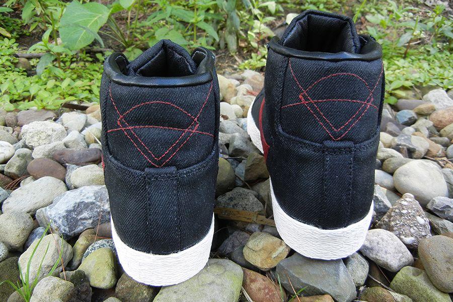 Nike Blazer Mid Suede Croc Jbf Customs 5