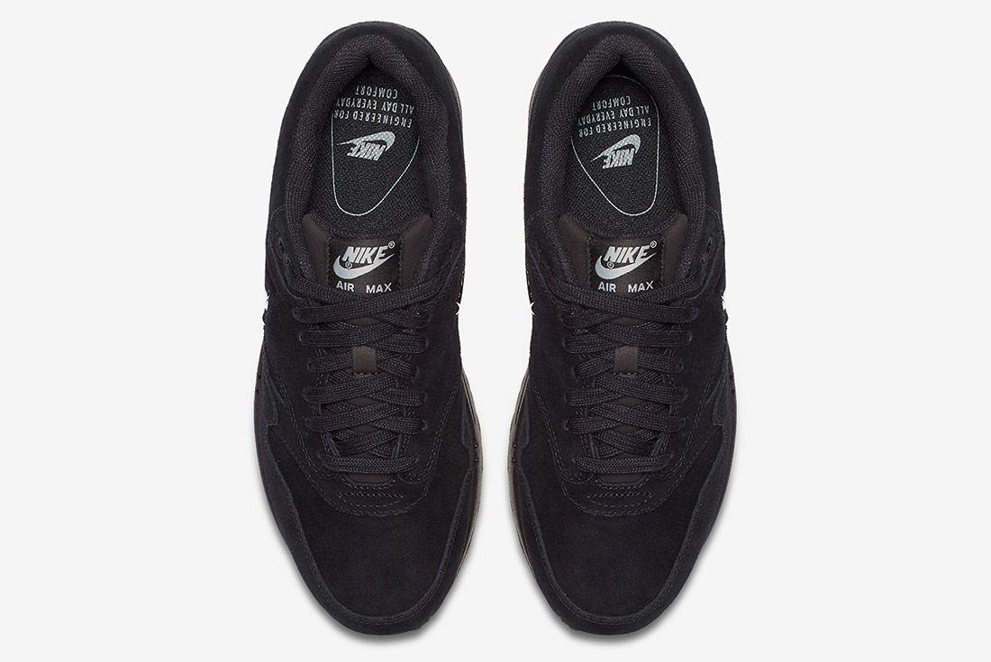 Triple Black Nike Air Max 1 Jewel Sneaker Freaker 1
