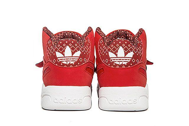 Adidas Mutombo Tr Block Scarlet Heel