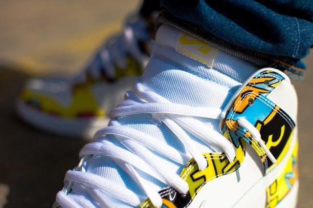 A Closer Look At The De La Soul X Nike Sb Dunk High 6