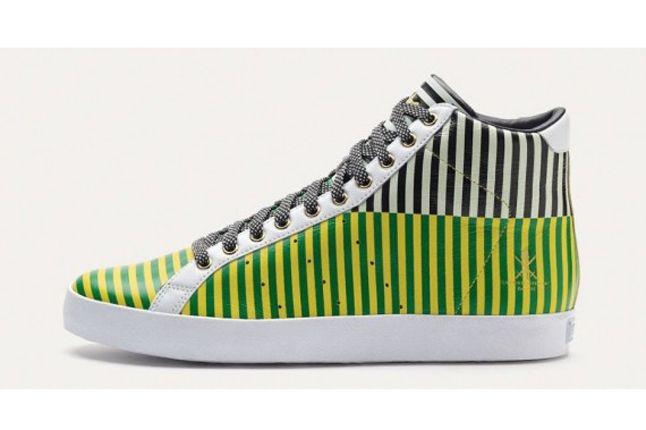 Adidas Og Vintage Rod Laver Hi Green Stripe Profile 1
