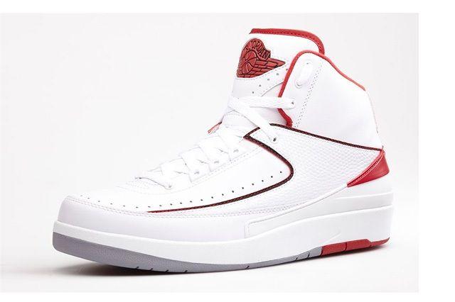 Air Jordan 2 Varisty Red Bump Bump 3