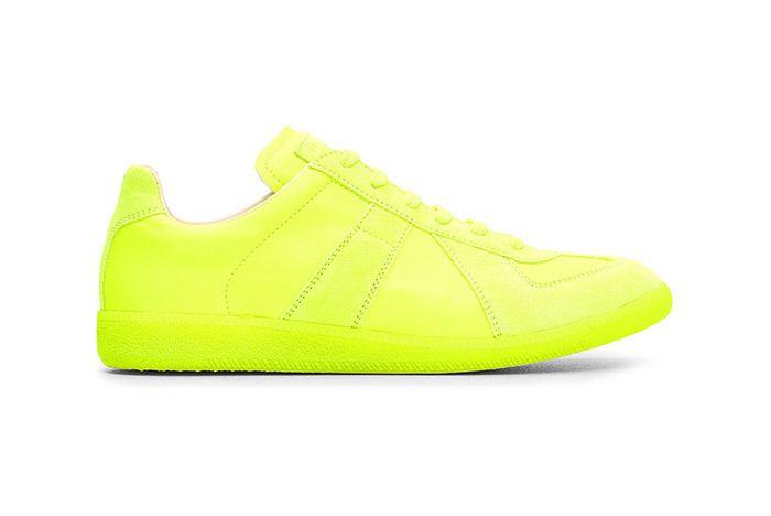 Margiela Replica Neon Yellow 01