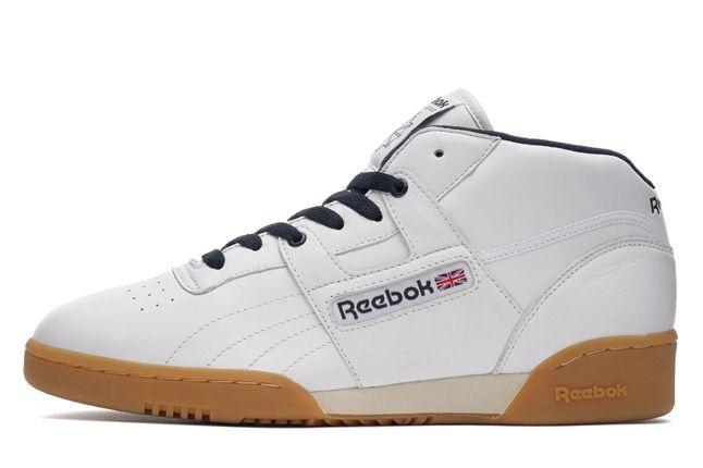 Reebok Workoutmid Wht Gum Profile 1