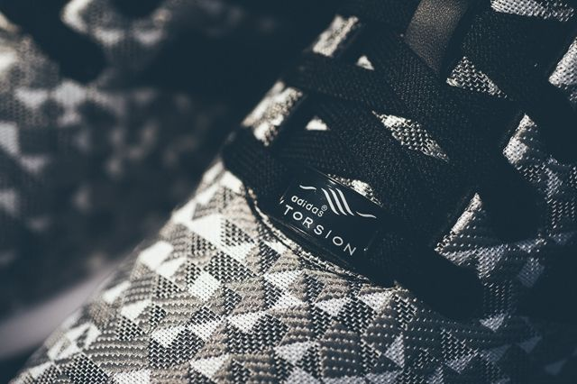 Adidas Zx Flux Weave Grey Black 3