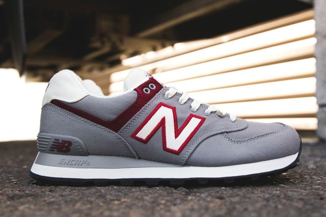 New Balance 574 Rugby Pack Grey Profile 1