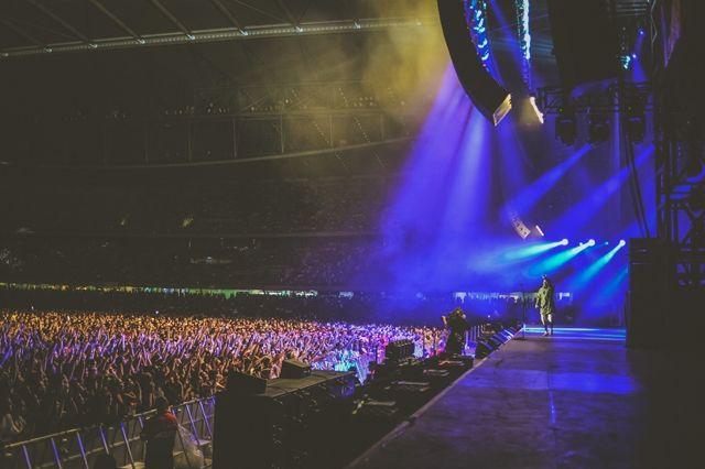 Eminem The Rapture Melbourne 7