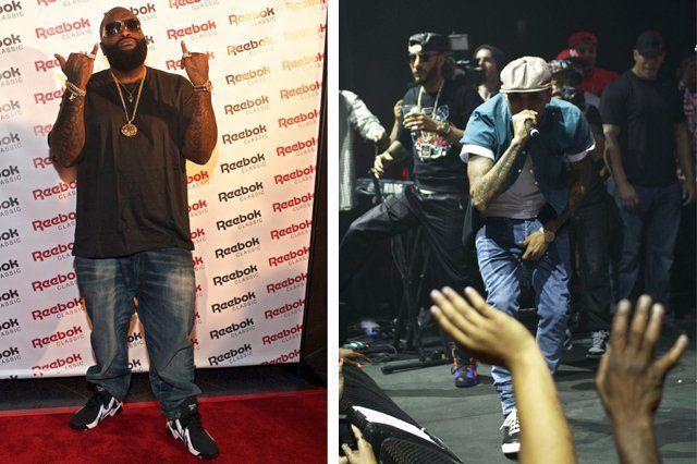 Reebok Classics Project Las Vegas Rick Ross Chris Brown