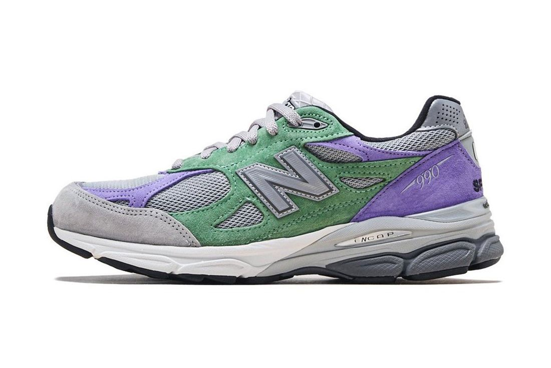 Stray Rats New Balance 990V3 Lateral