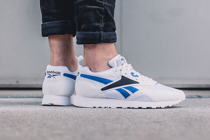 Reebok Rapide Og White Black Royal Blue 9