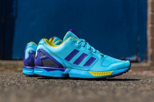 Adidas Originals Zx Flux Techfit Og Aqua 2