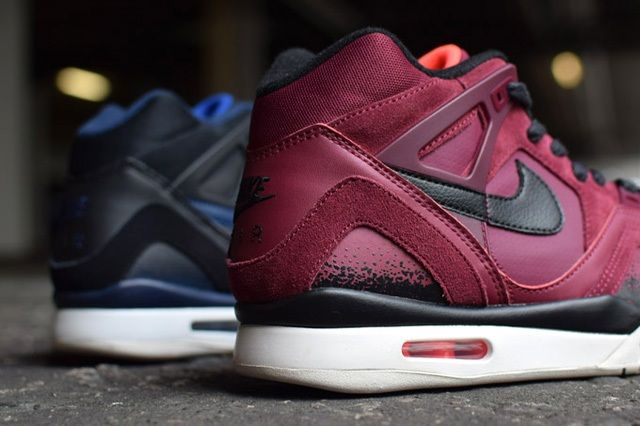 Nike Air Tech Challenge Ii Burgundy Navy Releases 4