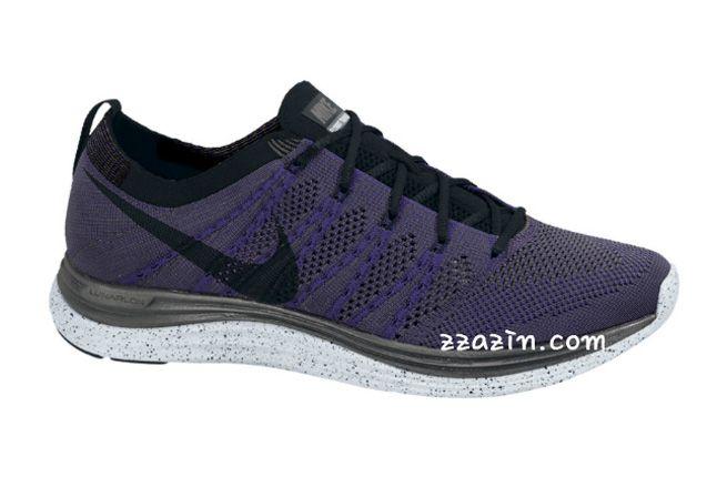 Nike Flyknit Lunar1 Grey Purple 1