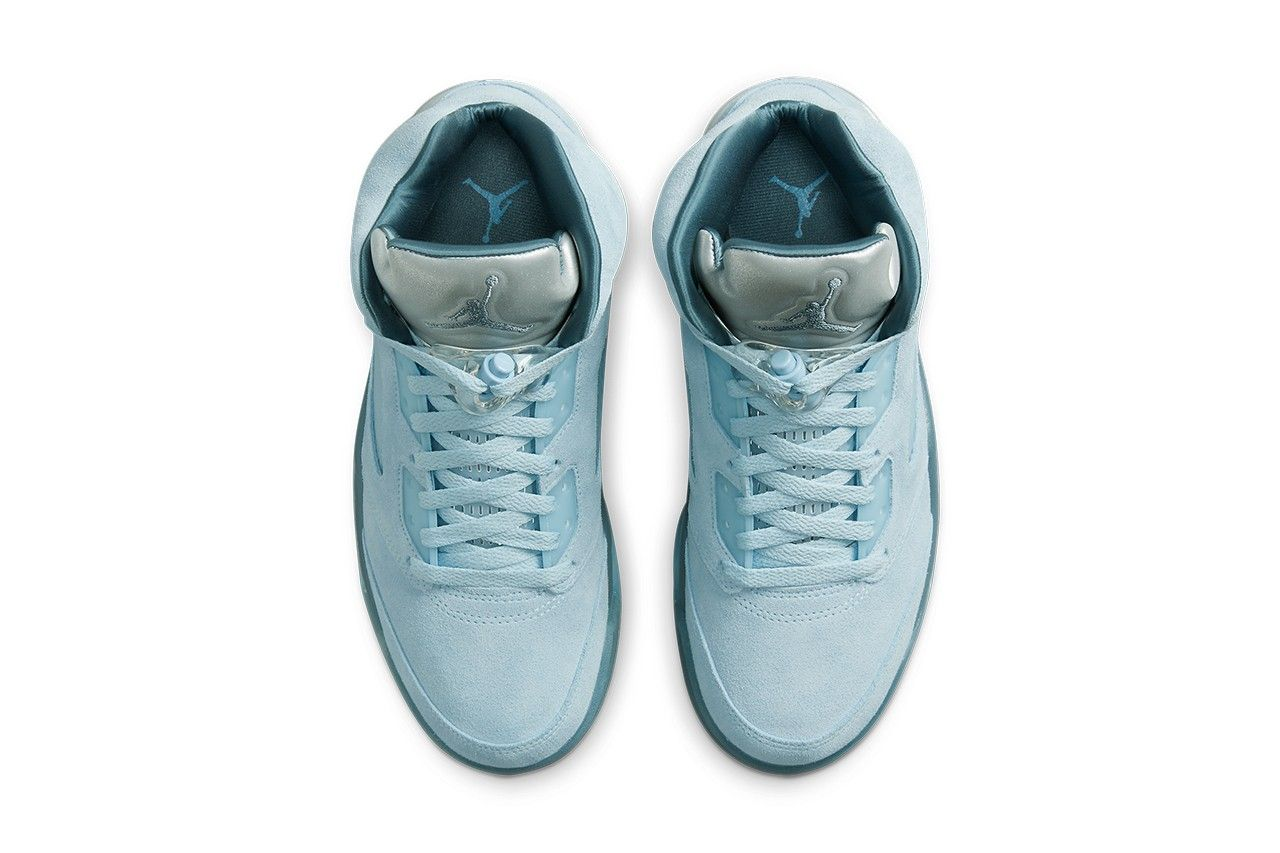 Air Jordan 5 Blue Bird
