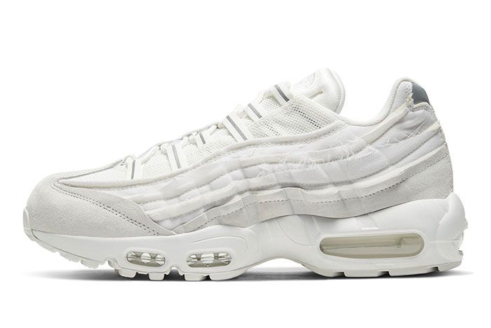 Comme Des Garcon Nike Air Max 95 White Left