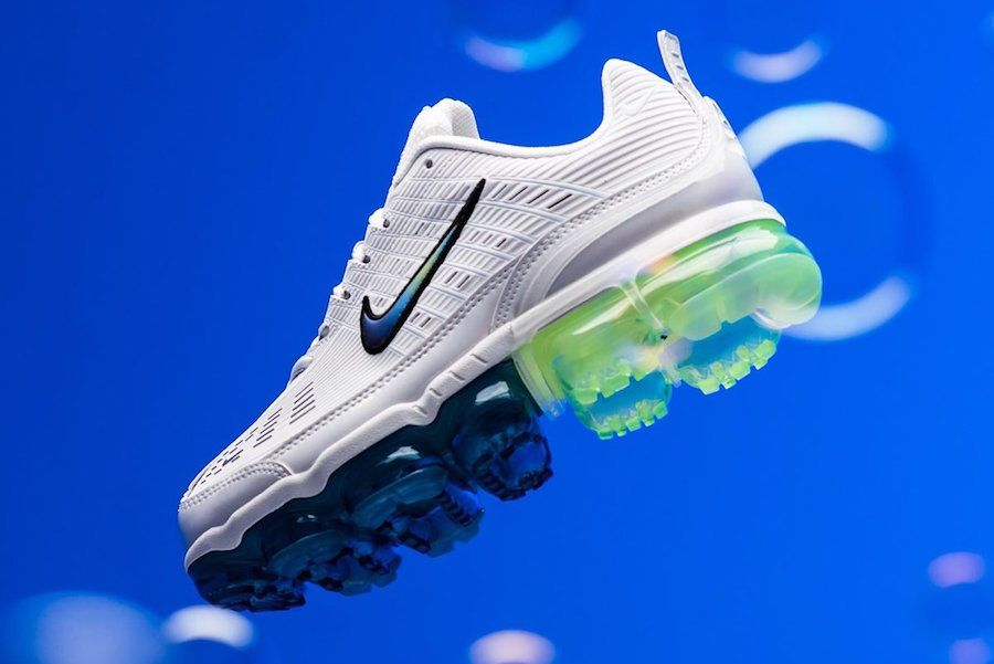 Nike Air Vapormax 360 Summit White Lateral Side Full
