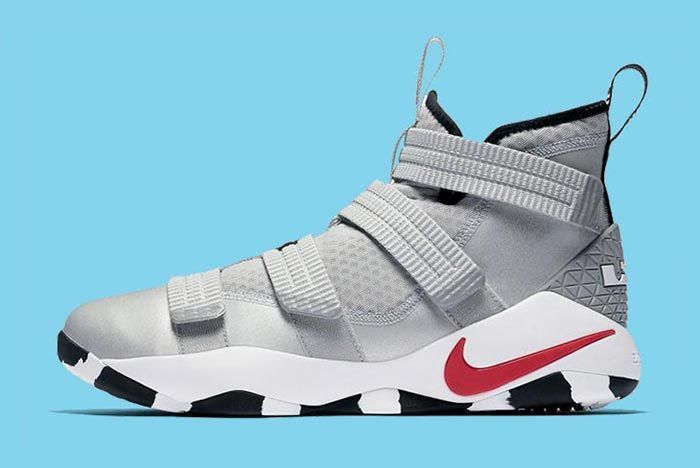 Nike Silver Bullet Le Bron Soldier 11 2