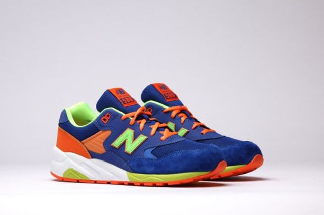 New Balance Mrt580 Bm Grey Turquoise Apple Pink 5