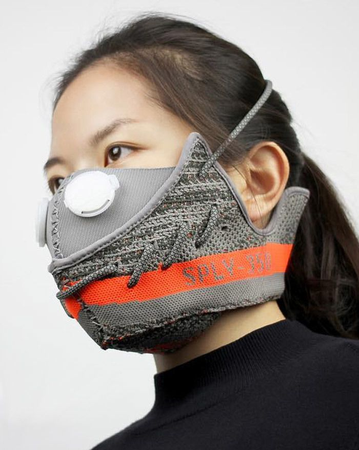 Adidas Yeezy Boost 350 Sneaker Mask By Zhijun Wang 2