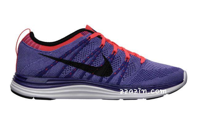 Nike Wmns Flyknit Lunar1 Purple Pink 1