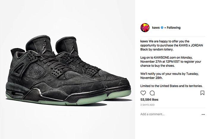 Kaws Air Jordan 4 Buy Sneaker Freaker 1