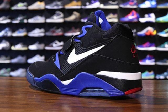 Nike Air Force 180 Black White Sport Royal