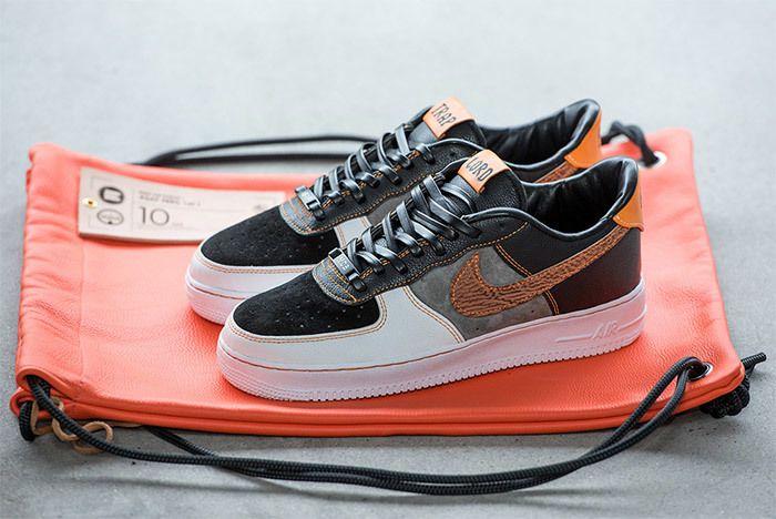 Deubré Bespokeind Nike Air Force 1 Asap Ferg 2