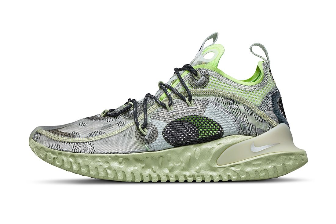 Nike ISPA Flow Green Left