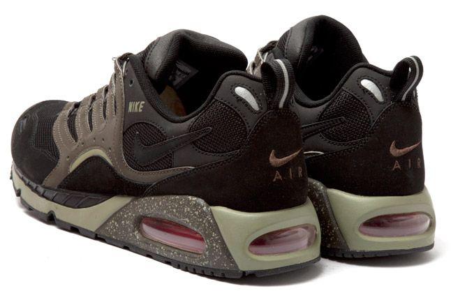 Nike Air Max Humara Black Deep Smoke Heel 1
