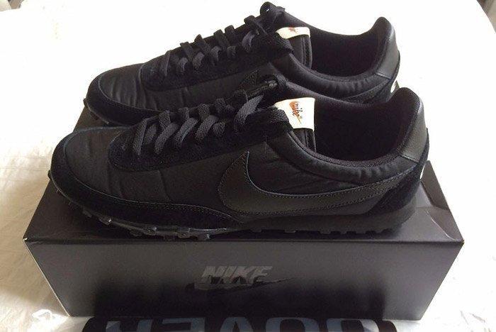 Comme Des Garcons Nike Waffleracer Black 6