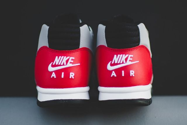 Nike Air Trainer 1 Mid Wolf Grey University Red 2
