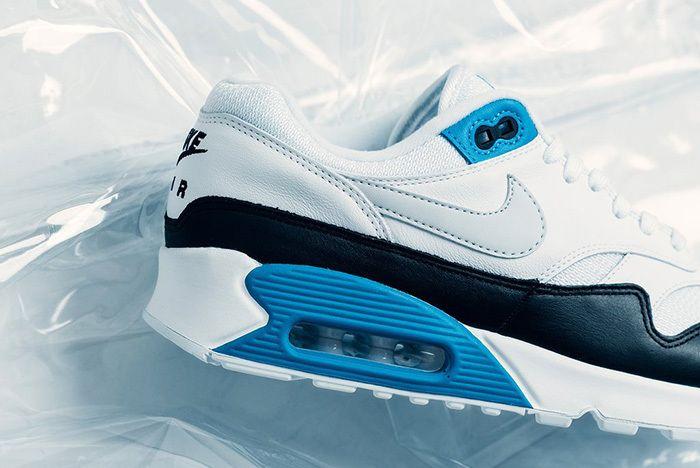 Nike Air Max 90 1 Neutral Grey White Laser Blue 2