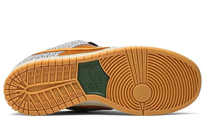 Nike Sb Dunk Low Safari Sole