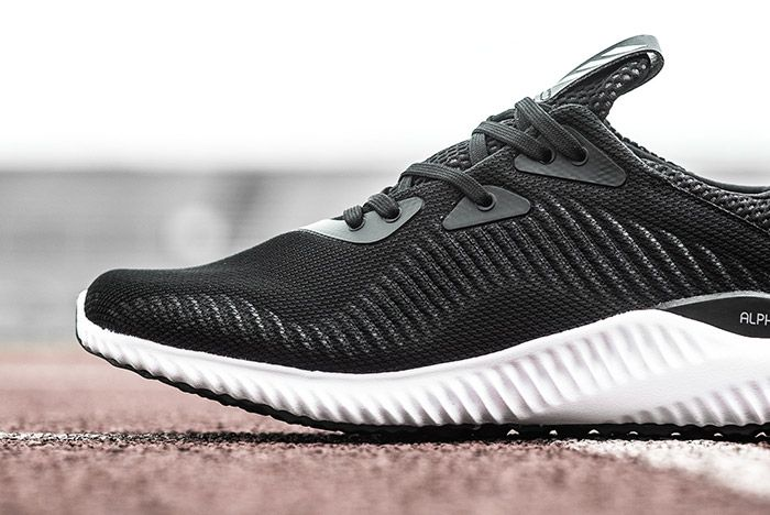 Adidas Alphabounce Black White 2