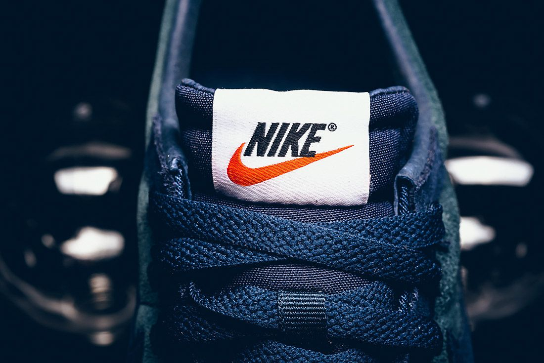 Nike Ld Zero Suede Navy Blue 3