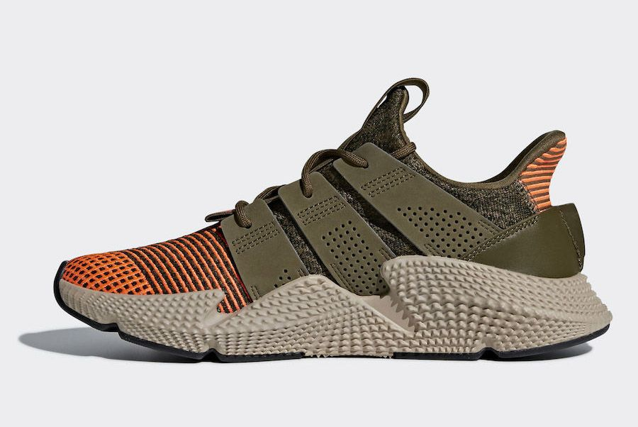 Adidas Prophere Trace Olive Cq2127 Medial Side