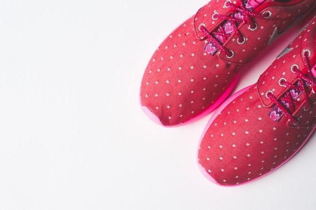 Nike Roshe Run Print Red Metallic Silver 5