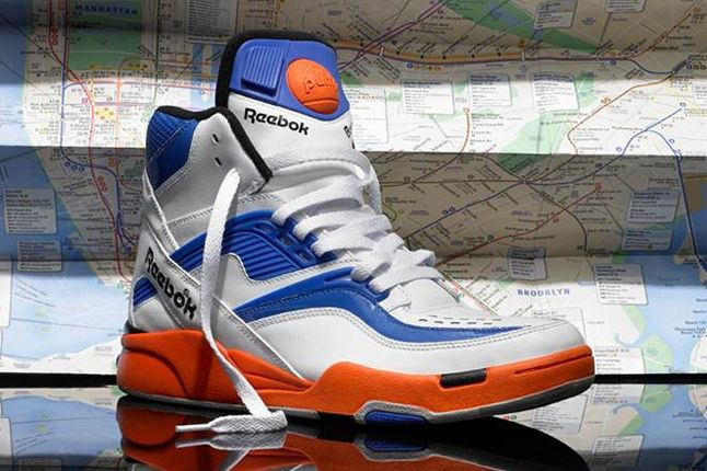 Reebok Pump Twilight Zone Knicks Angle 1
