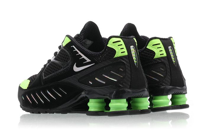Nike Shox Enigma Lime Blast Ck2084 002 Release Date Heel