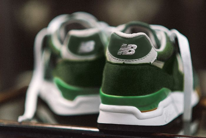 J Crew X New Balance 998 Green Back 2