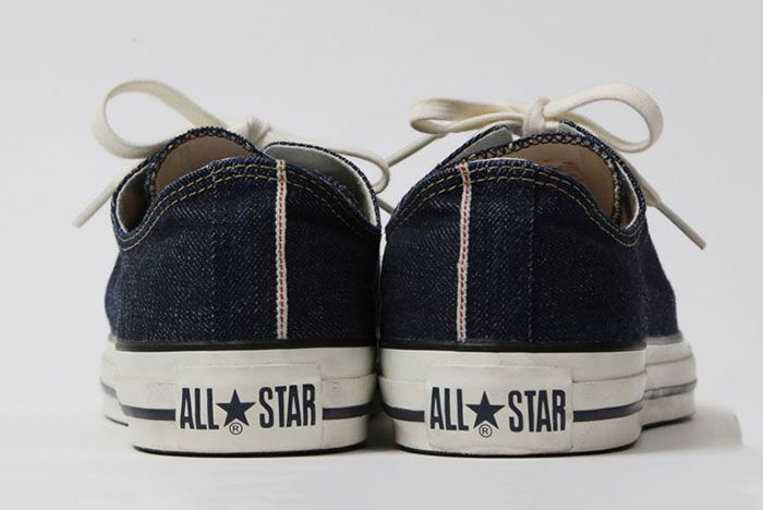 Converse All Star Beams Levis Heels