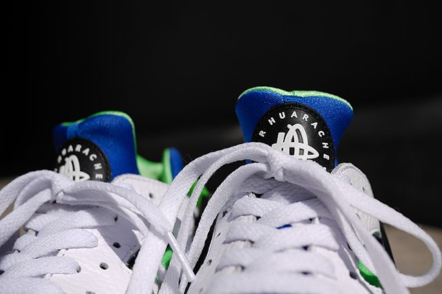 Nike Air Huarache Og Scream Green 2014 Retro 131