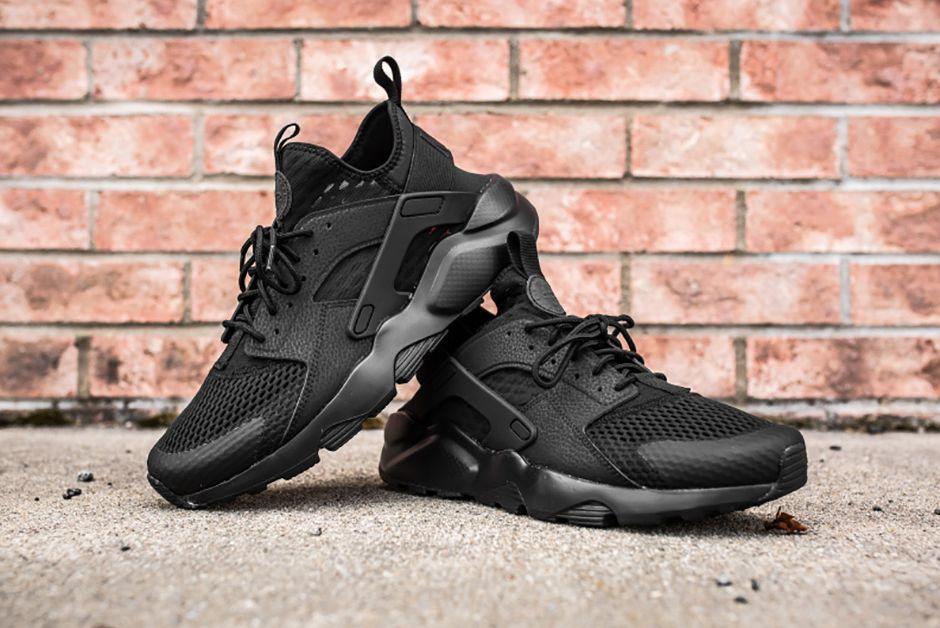 Nike Air Huarache Ultra Br Triple Black 2