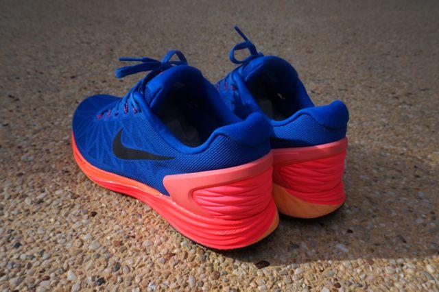 Nike Lunarglide 6 Blue Orange Yellow 2
