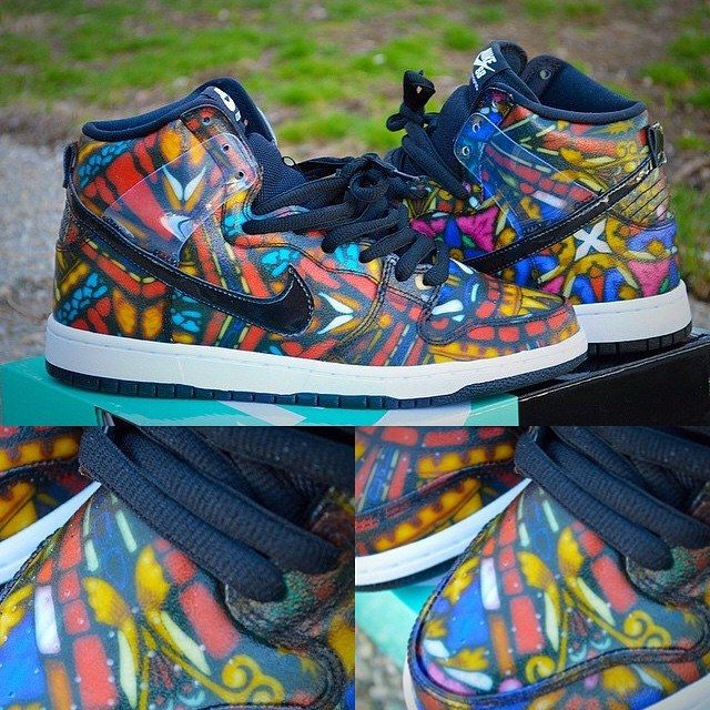 Concepts Nike Dunk High Sb Stained Glass 04