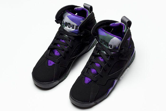 Air Jordan 7 Ray Allen Bucks Leaked 1